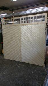 Portar panel med överljus