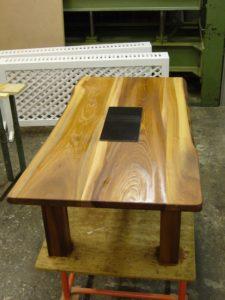 bord nedfräst skiva
